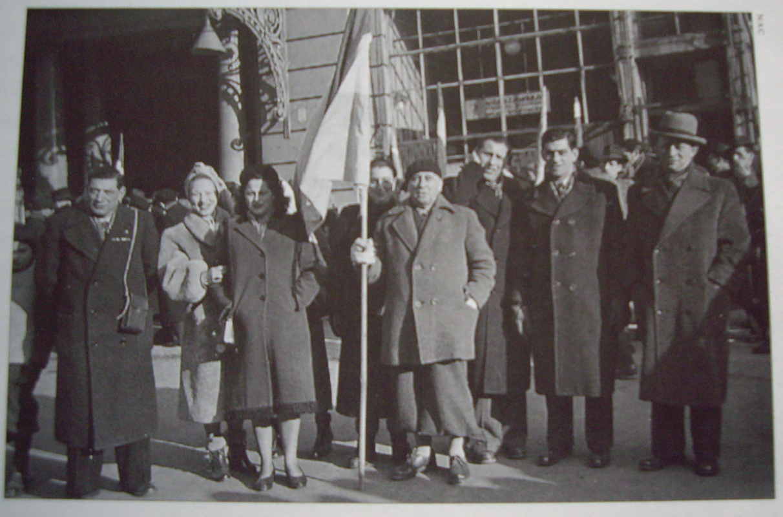 Nederlandse delegatie Auschwitz 1952