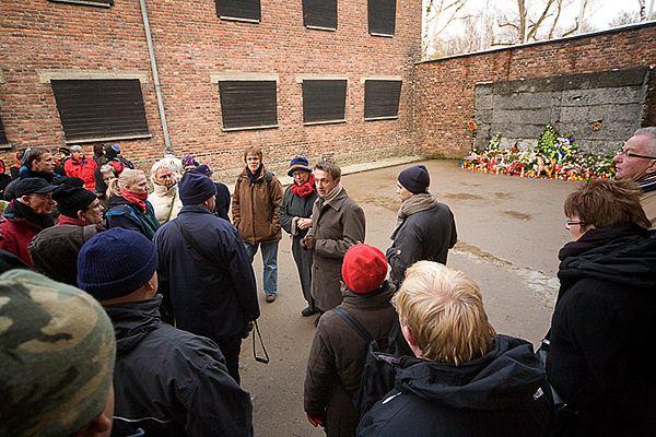 Executiemuur in Auschwitz I, stammlager