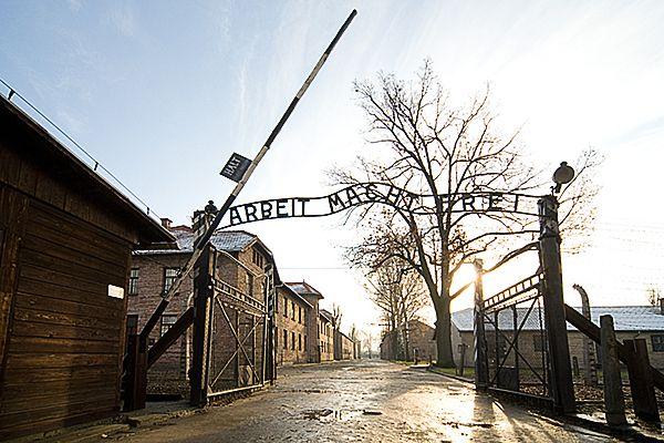 Toeganspoort Auschwitz I, stammlager