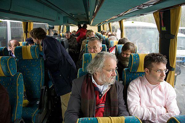 Tijdens de reis in Polen verplaatsen we ons per touringcar
